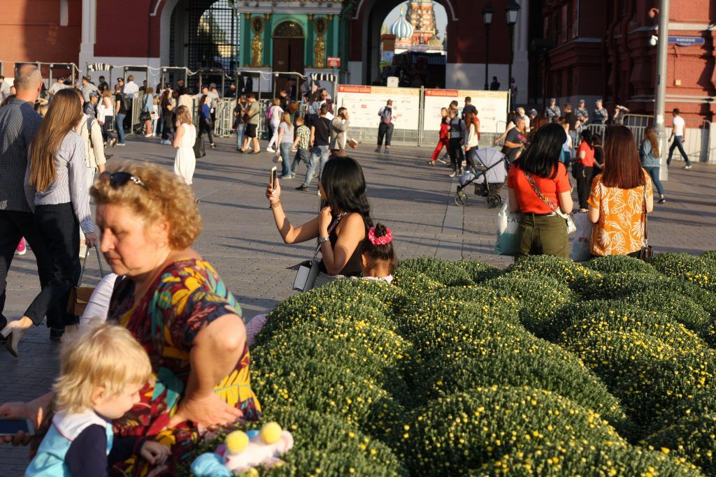 Цветочный Джем, Манежная площадь