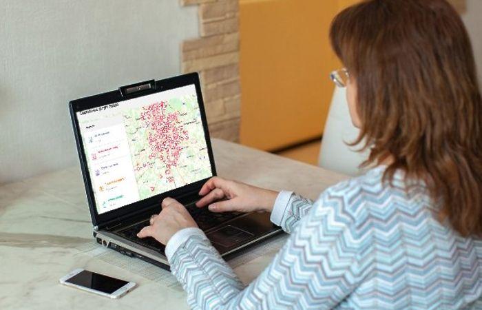 онлайн-карта сервис