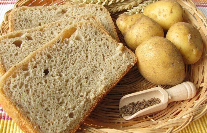 хлеб и картофель