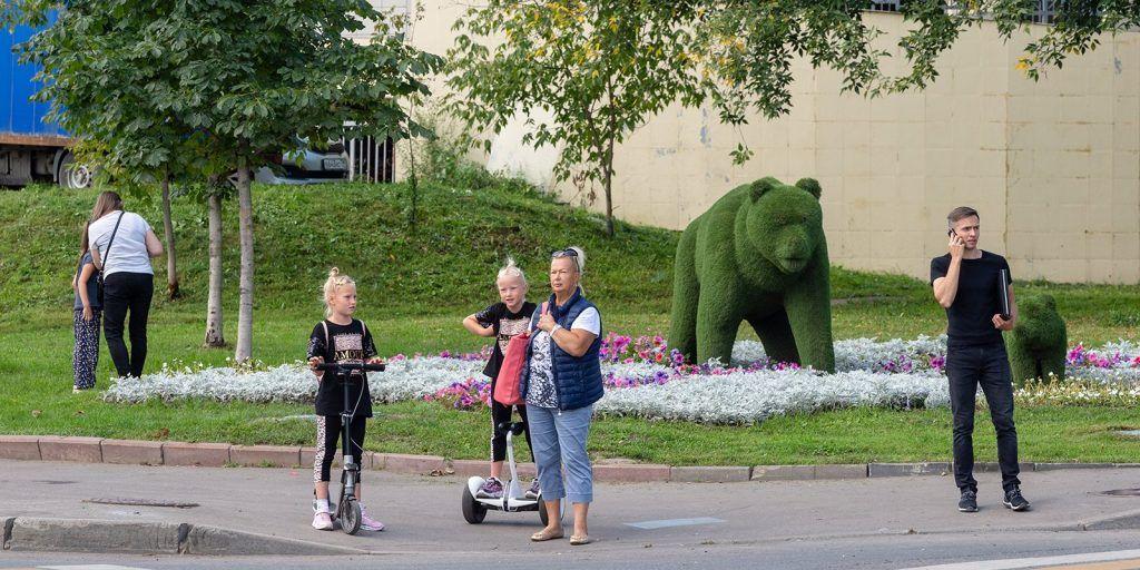 благоустройство, парки Москвы, пойма реки Яуза
