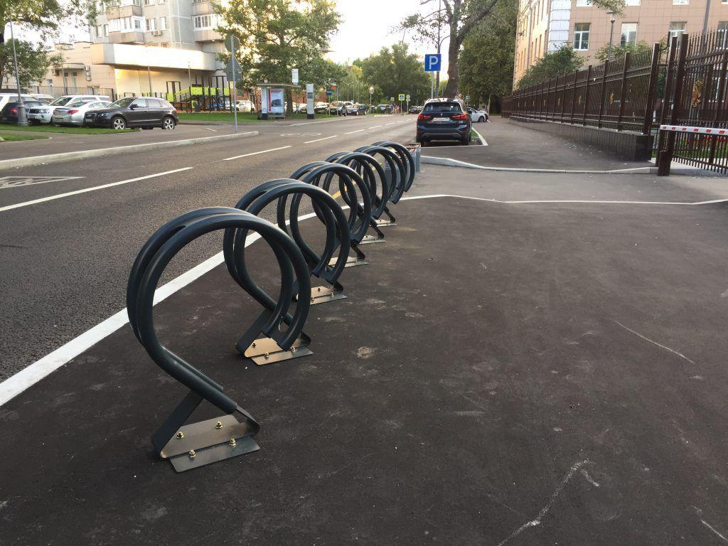 Велопарковки, благоустройство