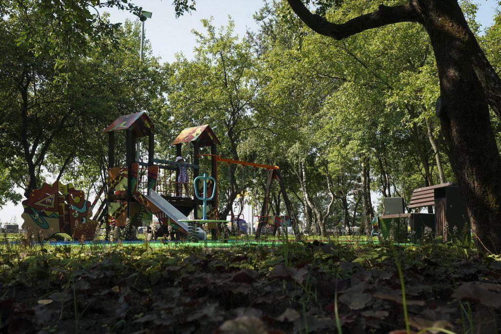 благоустройство, яблоневый сад, мой район, детская площадка