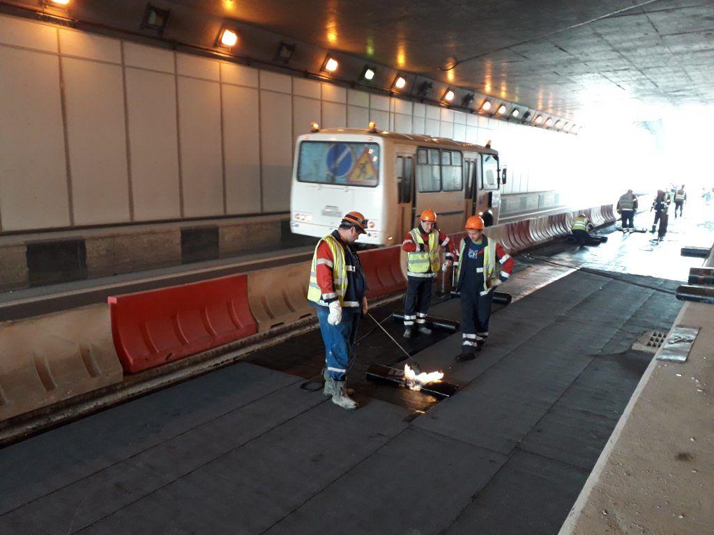 тоннель, гидроизоляционное покрытие, благоустройство, Гормост