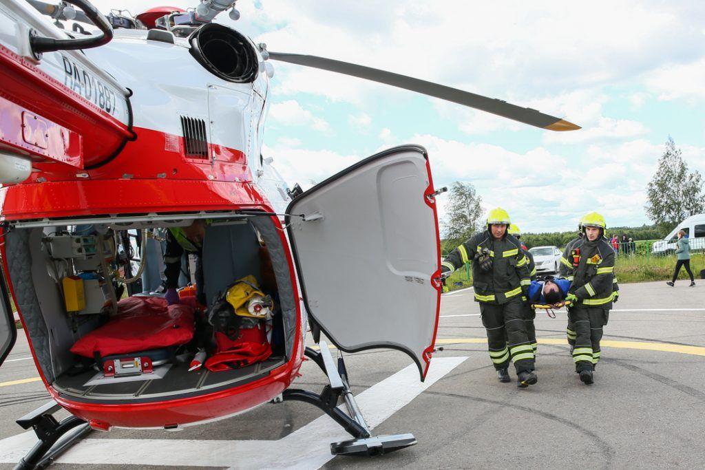 вертолеты МАЦ, пожарные, спасатели, пострадавший