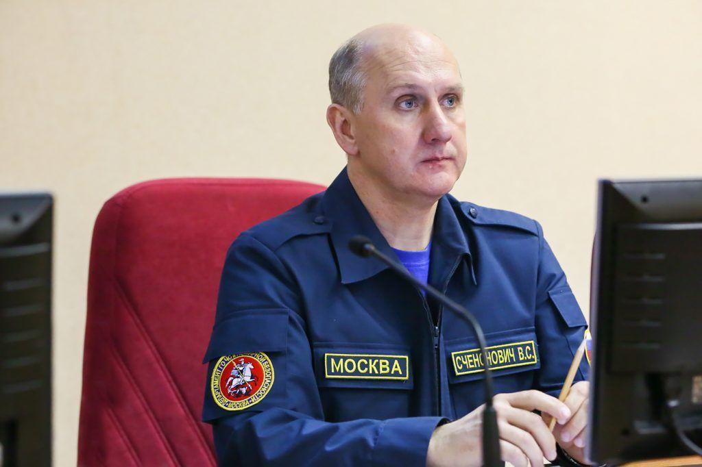 Владимир Счеснович, спасатель