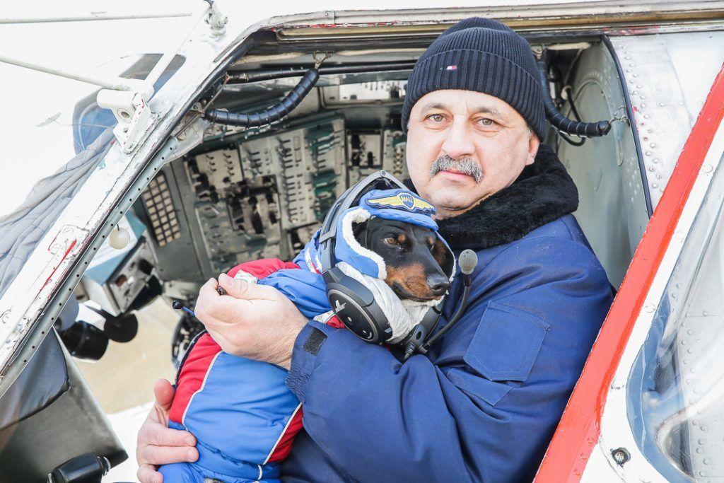 Илья Иващенко с Марусей, вертолет, спасатели, Мац