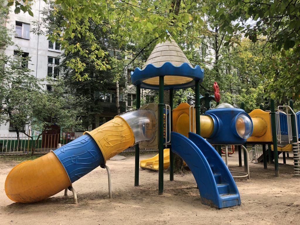 благоустройство, Болотниковская улица, детская площадка