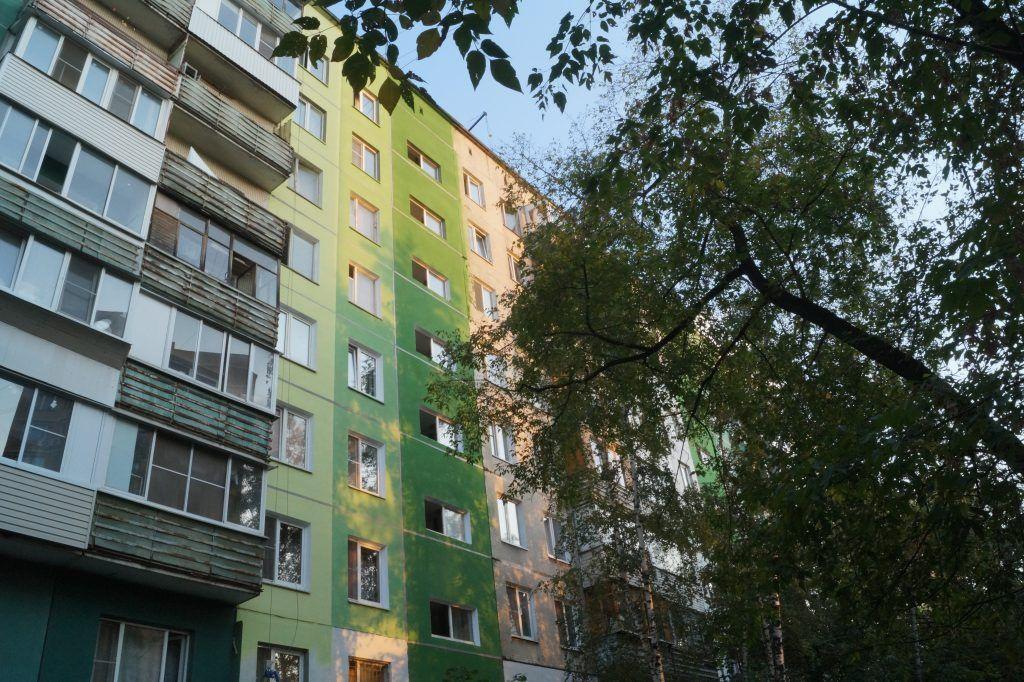 капремонт, фасад дома, улица академика Скрябина