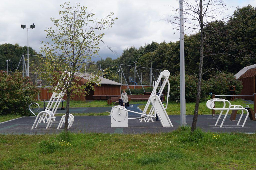 Терлецкий лесопарк, спортивная площадка