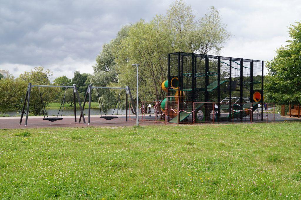 Терлецкий лесопарк, детская площадка