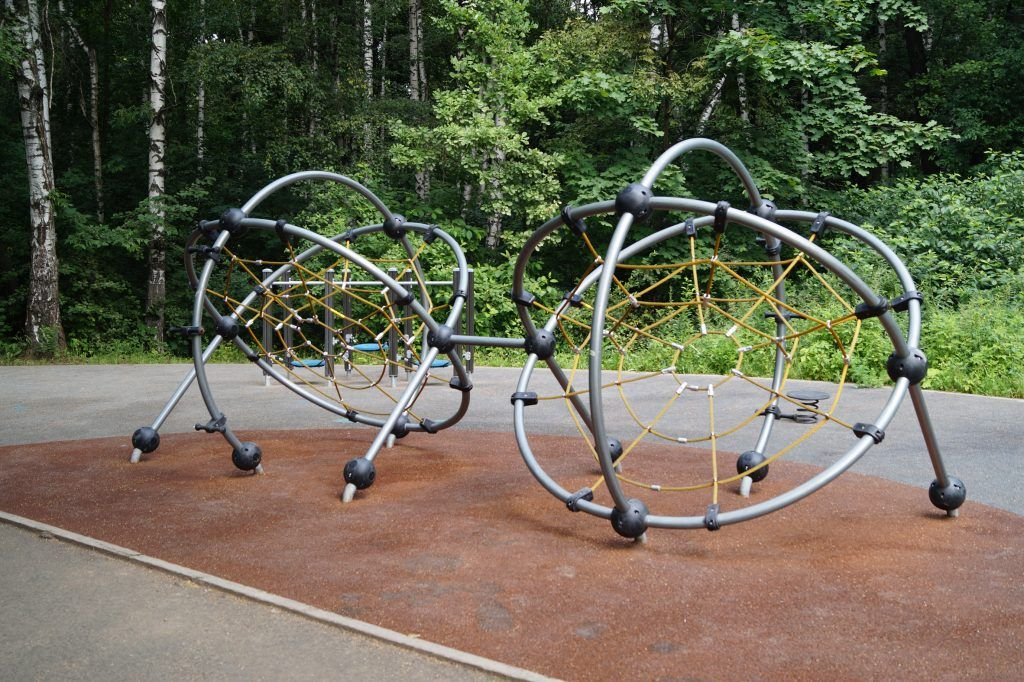 Терлецкий лесопарк, площадка, паутина