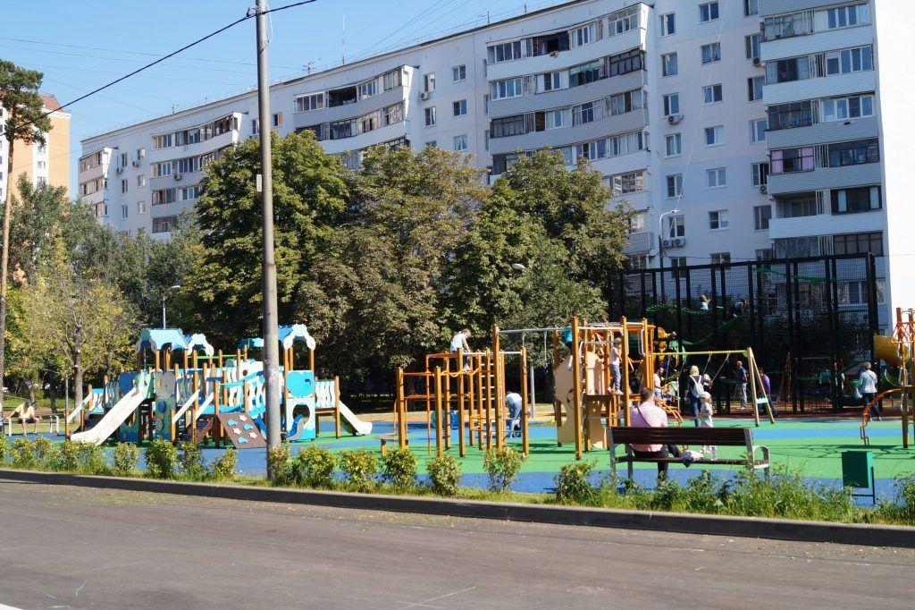 Реконструкция, благоустройство, Некрасовка, аллеи, детская площадка