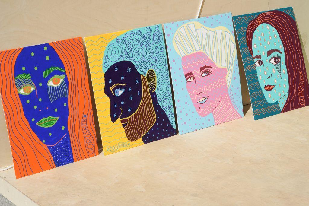 фестиваль Яркие люди, парк искусств Музеон