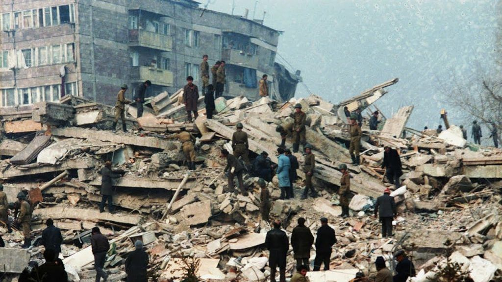 чрезвычайное бедствие, землетрясение