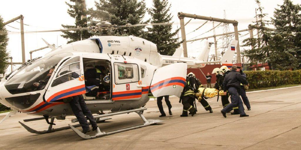 ГОиЧС8, спасатели, вертолеты МАЦ