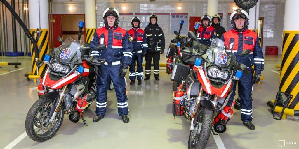 ГОиЧС8, спасатели, мотоциклы