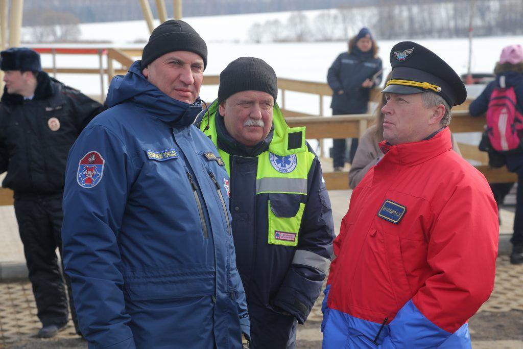 Андрей Иванов, спасатели
