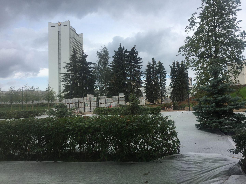 ЗелАО, парк Победы, благоустройство