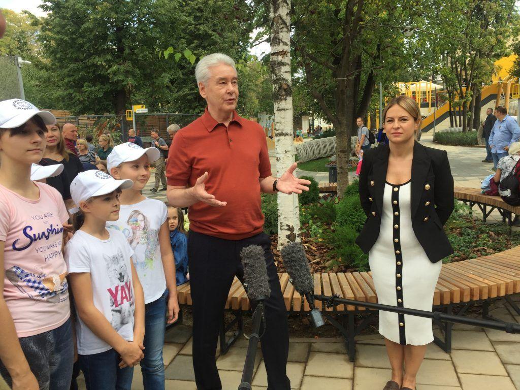 детский зоопарк, Сергей Собянин, благоустройство