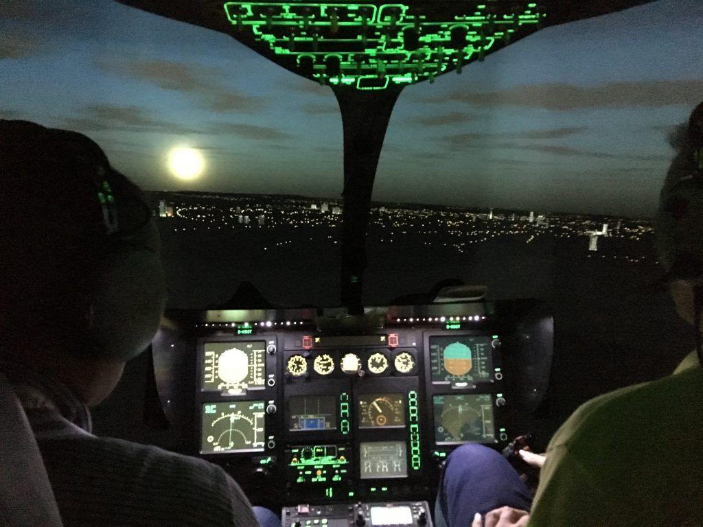 вертолет МАЦ, кабина пилота
