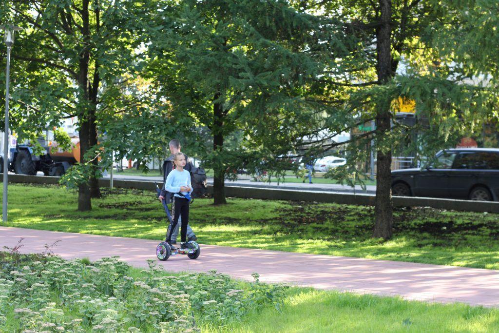 Крылатское, Осенний бульвар, благоустройство, дорожки