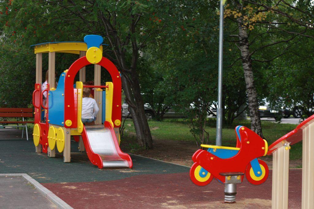 благоустройство, Строгино, детская площадка
