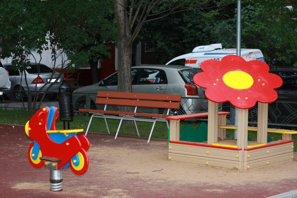 благоустройство, Строгино, детская площадка, песочница