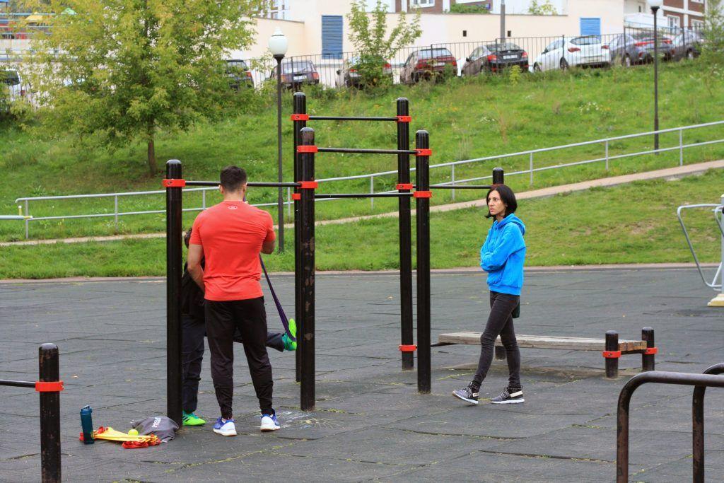благоустройство, Строгино, спортивная площадка