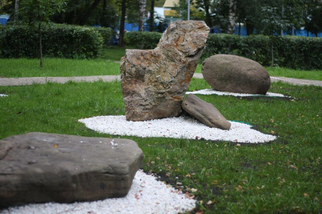 сад камней, мой район, Алексеевский район, благоустройство