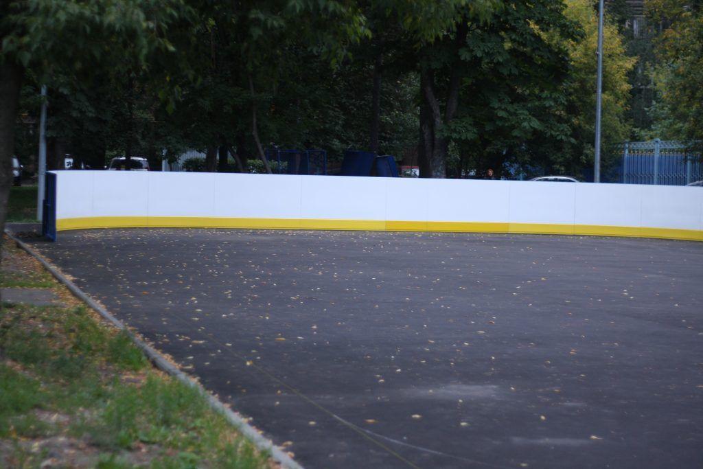 благоустройство, хоккейная коробка, мой район, Алексеевский район, хоккей