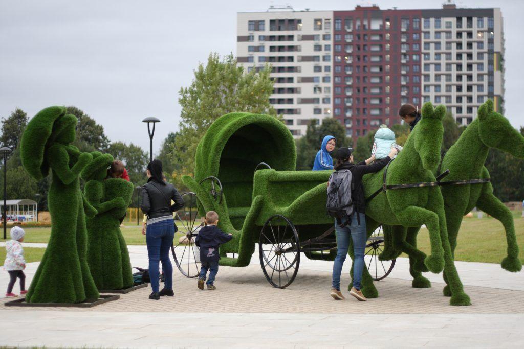 парк в Зеленограде, благоустройство