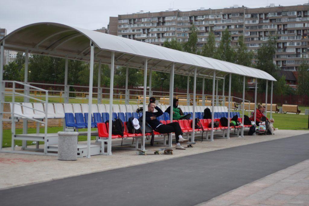 скейт-парк, Зеленоград, благоустройство, трибуны