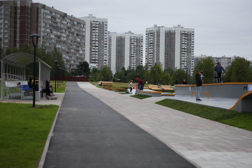 скейт-парк, Зеленоград, благоустройство, дорожки для катания на роликах и велосипедах