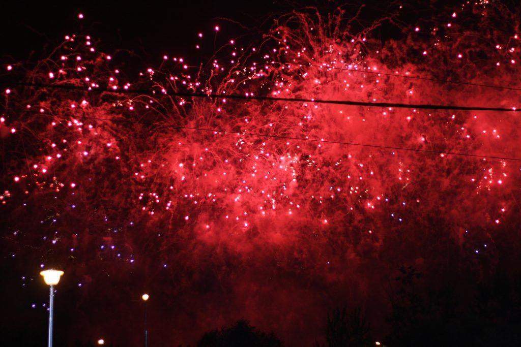 фестиваль, фейерверки