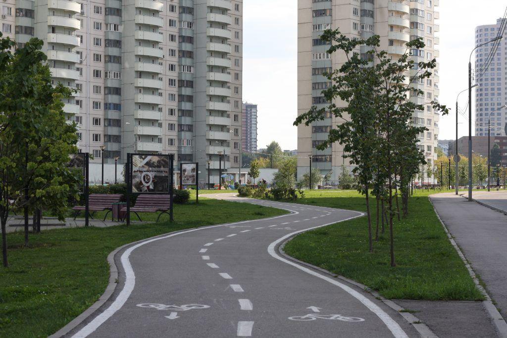 парк «70-летия Победы в Великой Отечественной войне», велодорожки, благоустройство