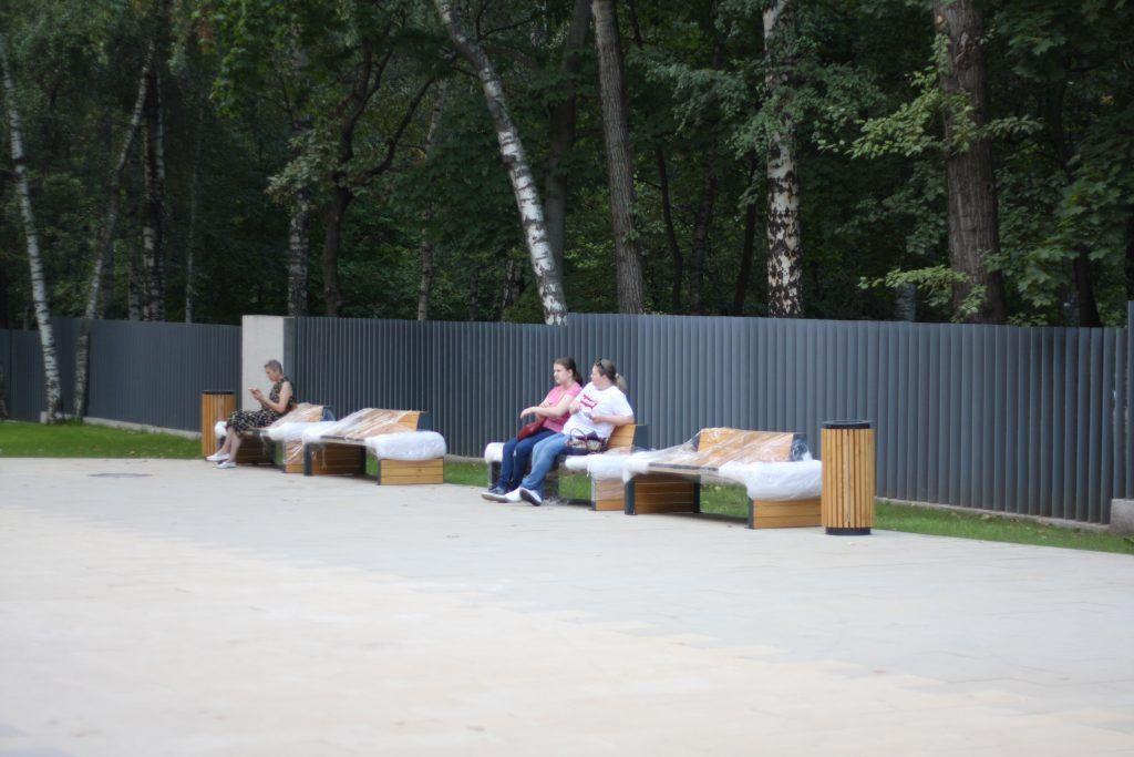 парк Лианозово, парки Москвы, Лианозовский променад, благоустройство, место отдыха