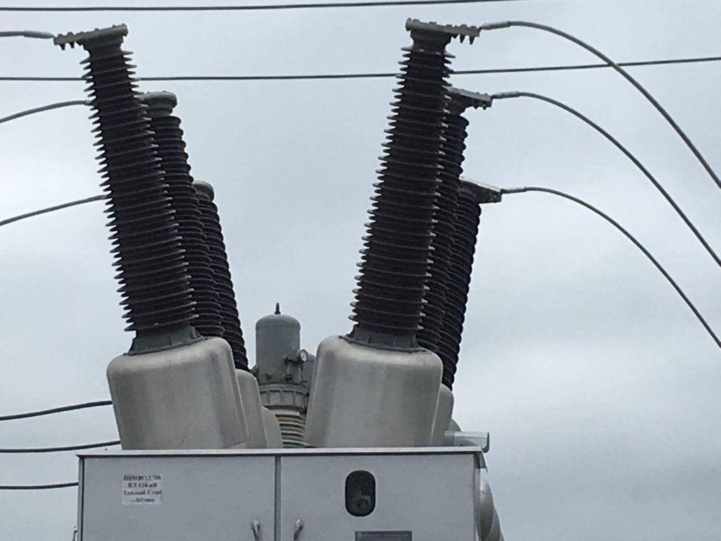 Элегазовые выключатели, подстанция Летово, ТиНАО
