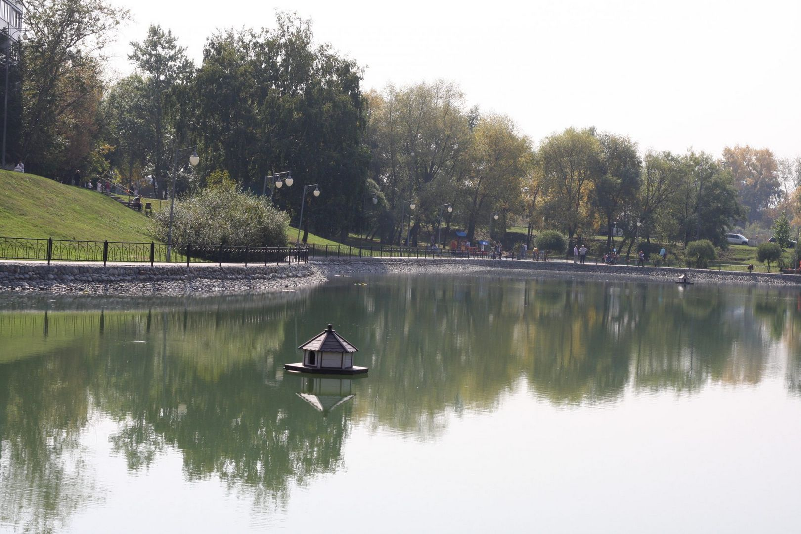 Дегунинский пруд, благоустройство