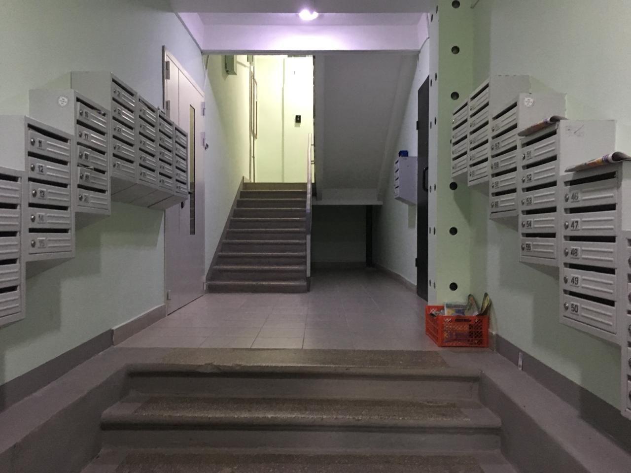 капремонт, холл, подъезд, новые почтовые ящики