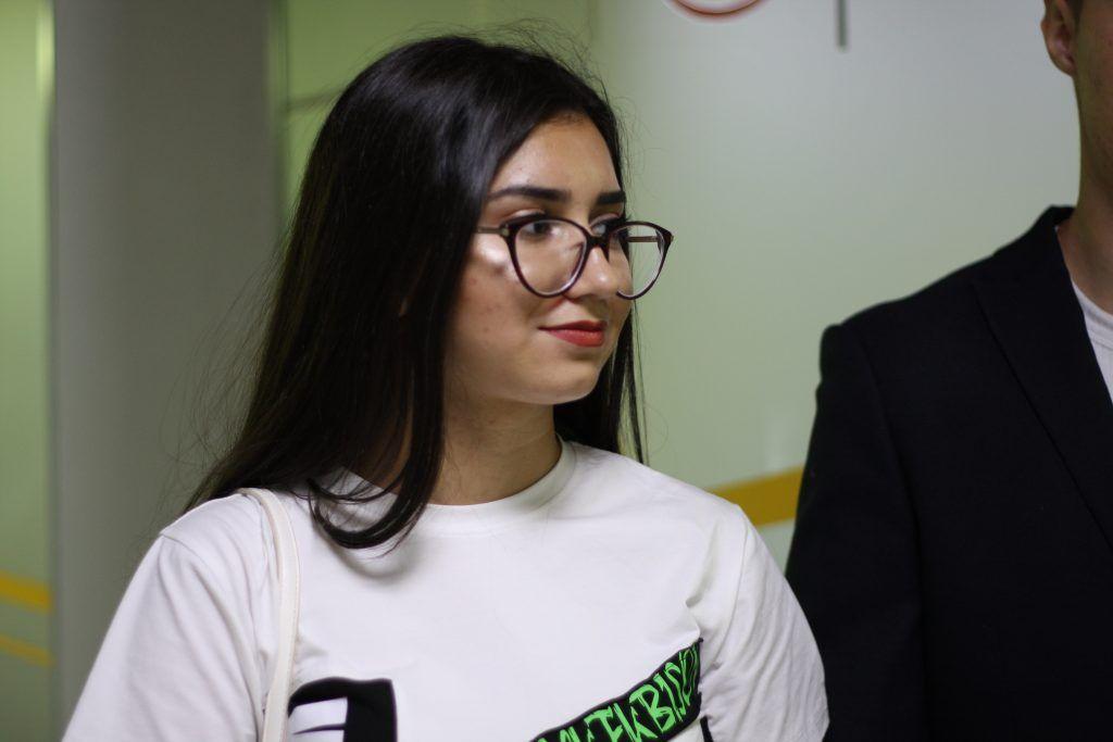 Элиза Махмудова, ученица школы №950, подстанция Сколково, Россети, школьники
