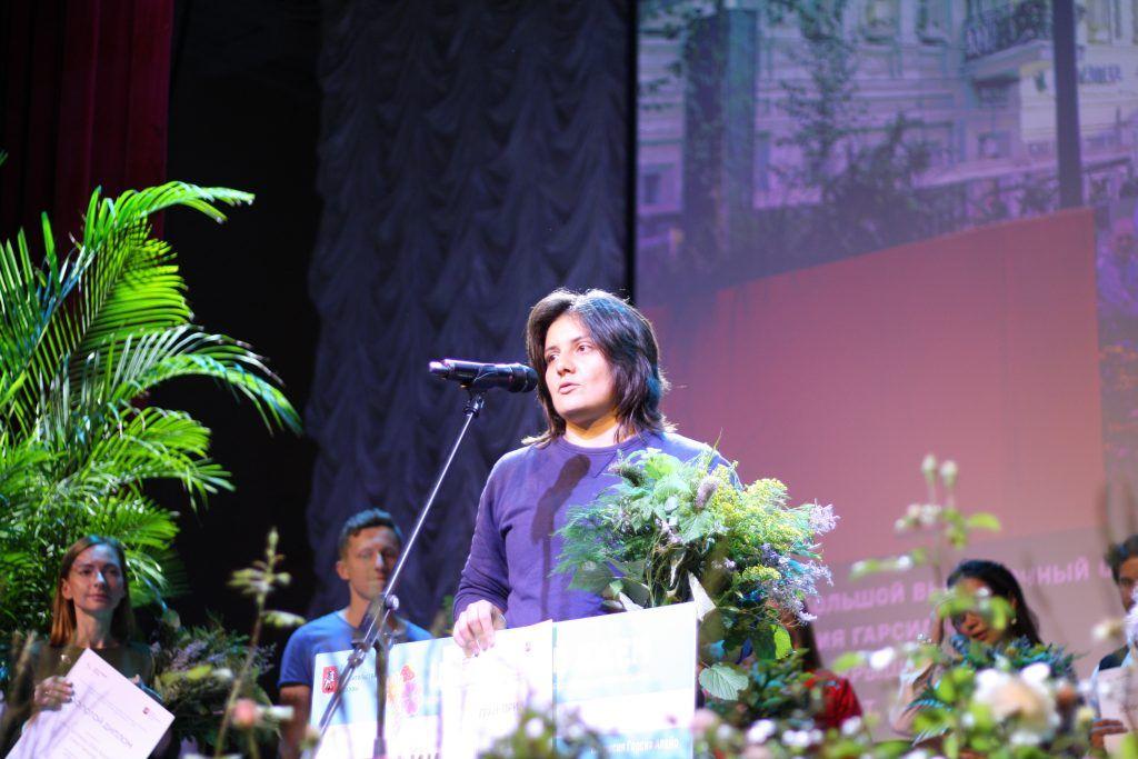 Ландшафтный дизайнер Патрисия Гарсиа удостоена гран-при и золотой медали за сад «Выше крыши» (Номинация «Большой выставочный сад)., цветочный джем, итоги