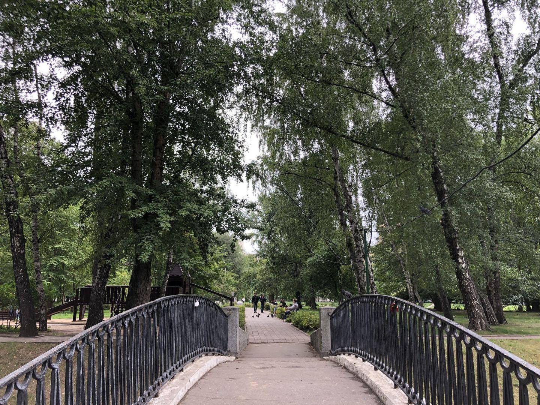 мостик,, Усадьба Трубецких в Хамовниках