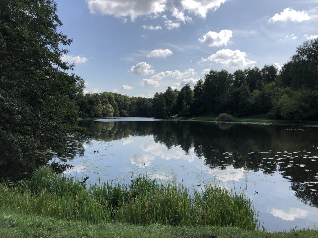Парк Люблино, благоустройство