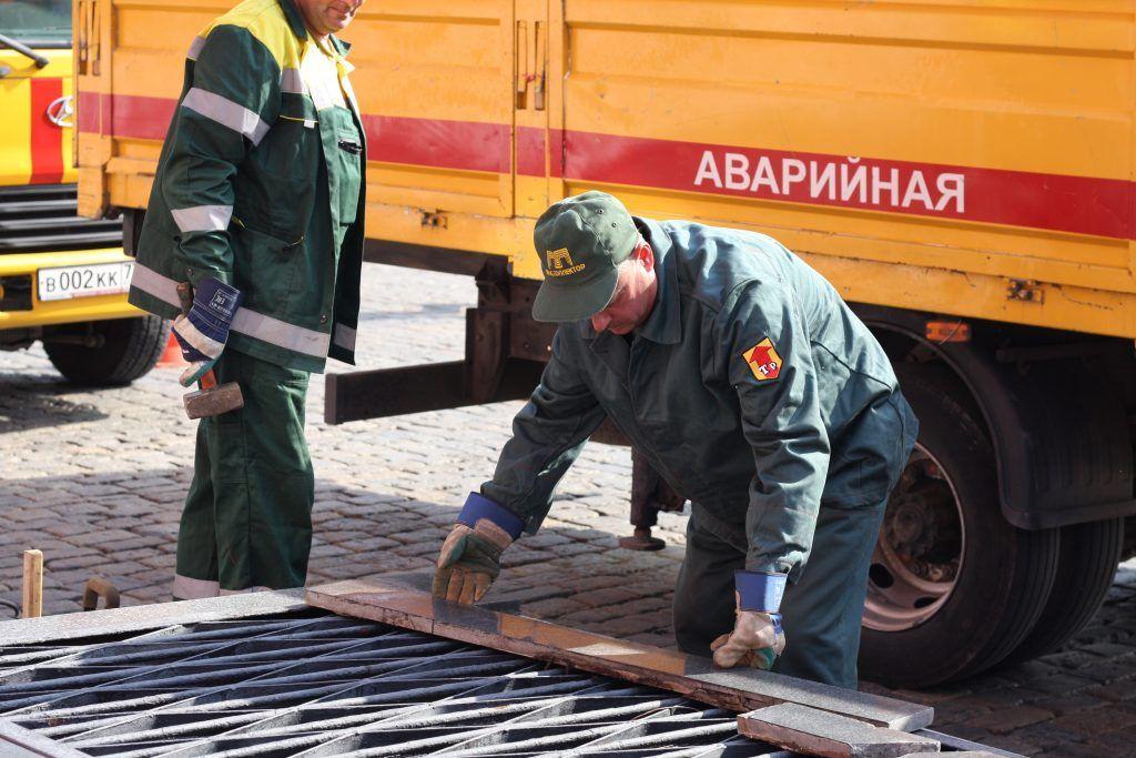 ГУП «Москоллектор», благоустройство, вентиляционные шахты, Кремль