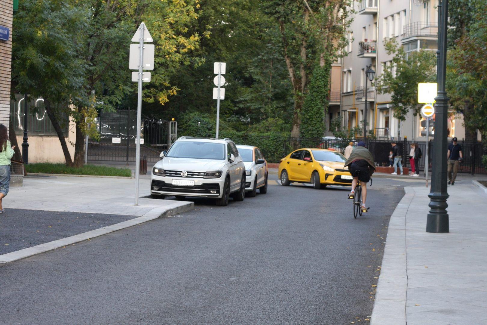 Ровная дорога на Большом Козихинском переулке