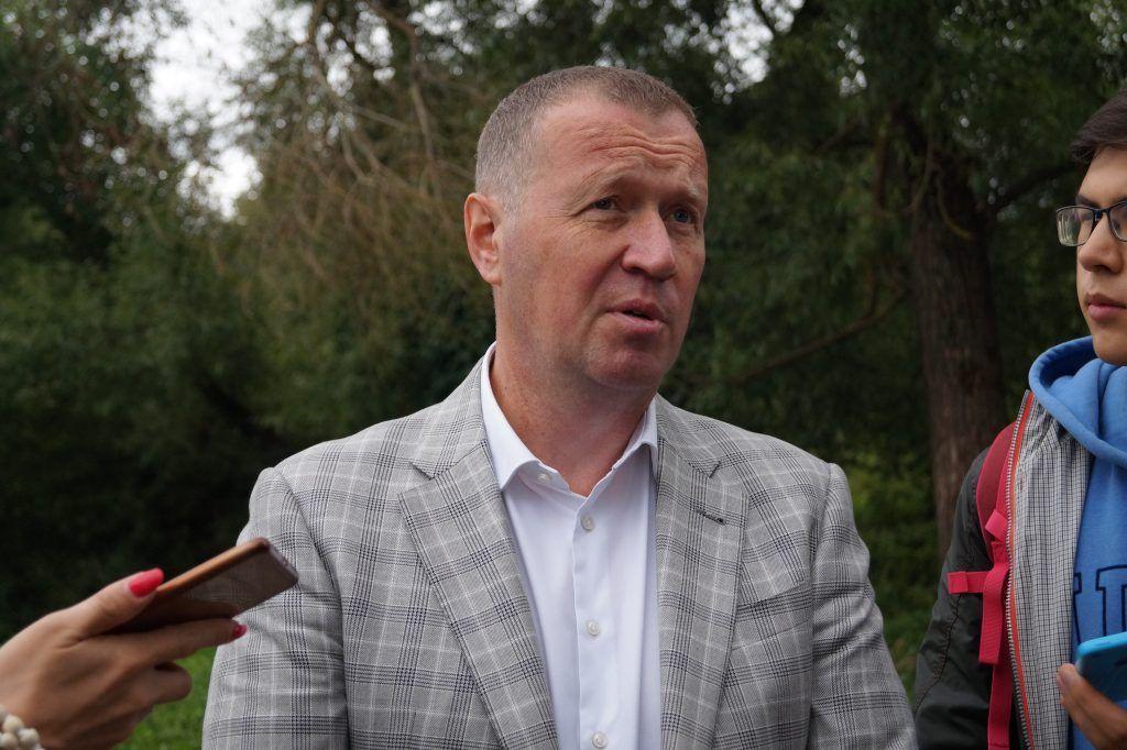 Сергей Заборовский, очистные сооружения
