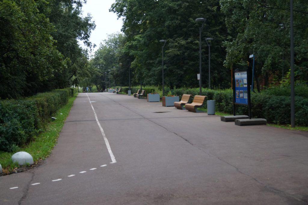 парк Северное Тушино, парки Москвы, велодорожки