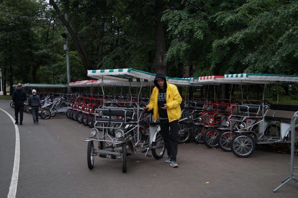 парк Сокольники, парки Москвы, велопрокат