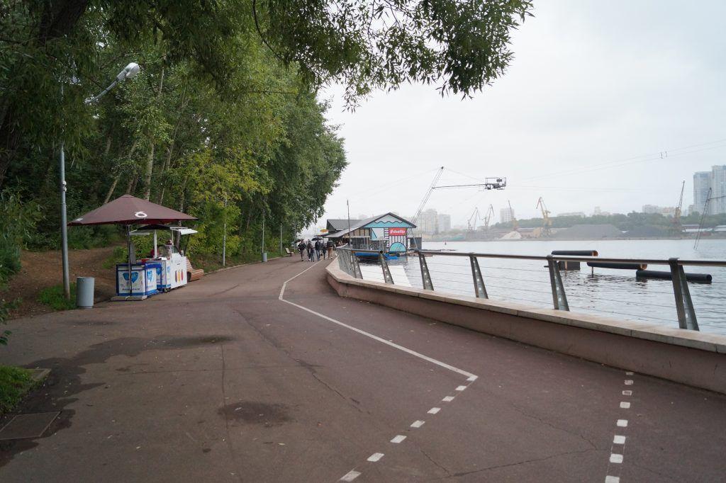 парк Северное Тушино, парки Москвы, велодорожки, набережная