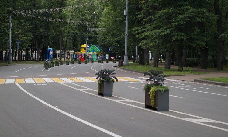 Велодорожки в Сокольниках